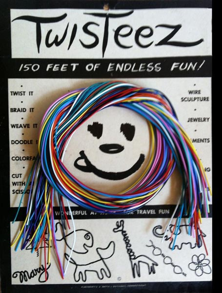 Original Twisteez wire packaage and logo