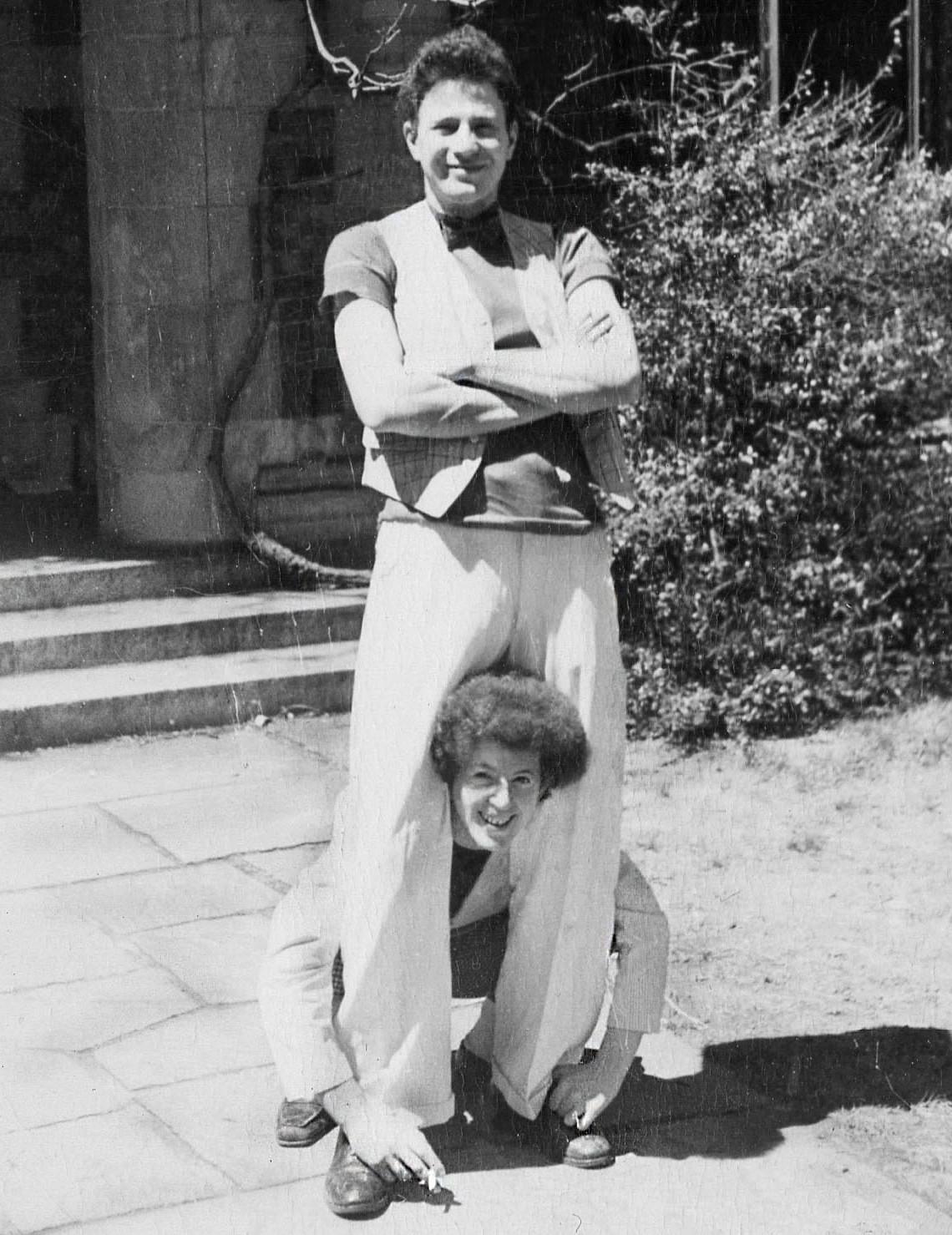 Harold and Kiki early pic at Yale
