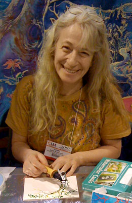 Sandy Rabinowitz, owner Witzend Workshop, LLC