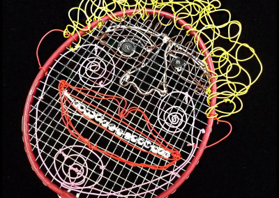 Racket wire mask