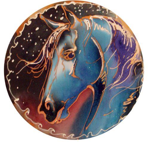 Horse batik pen
