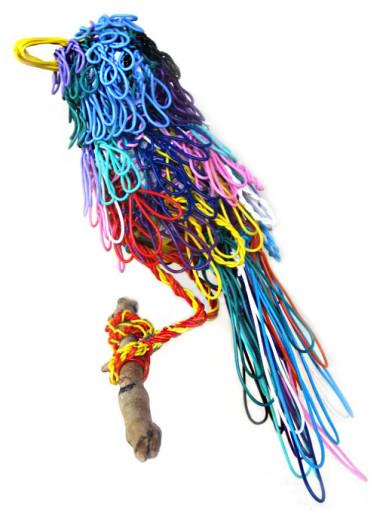 Twisteezwire bird perched