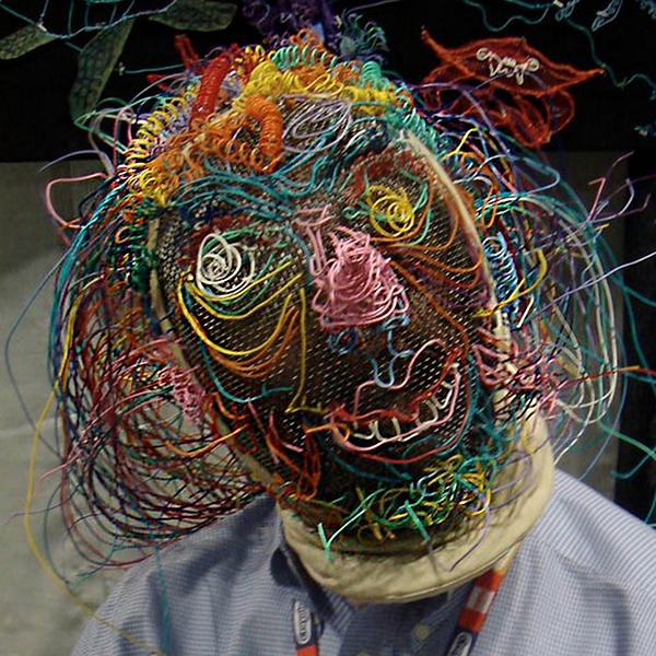 Twisteez wire Fencing Mask
