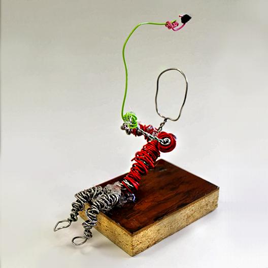 Fishing figure
