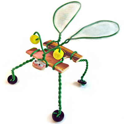 Winged Puzzle Bug