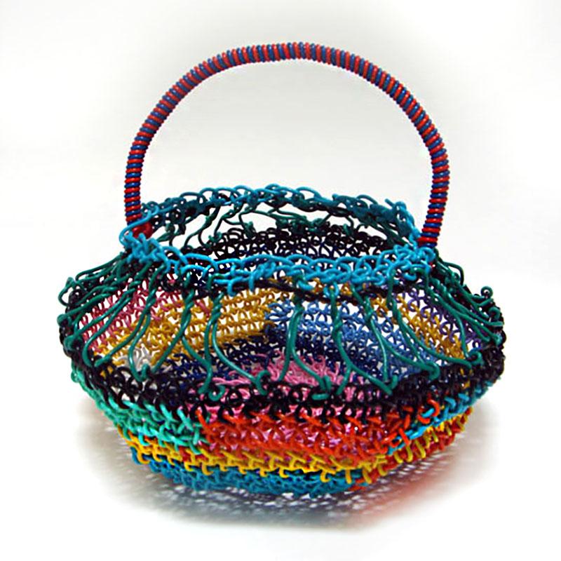 Macrame Handle Basket