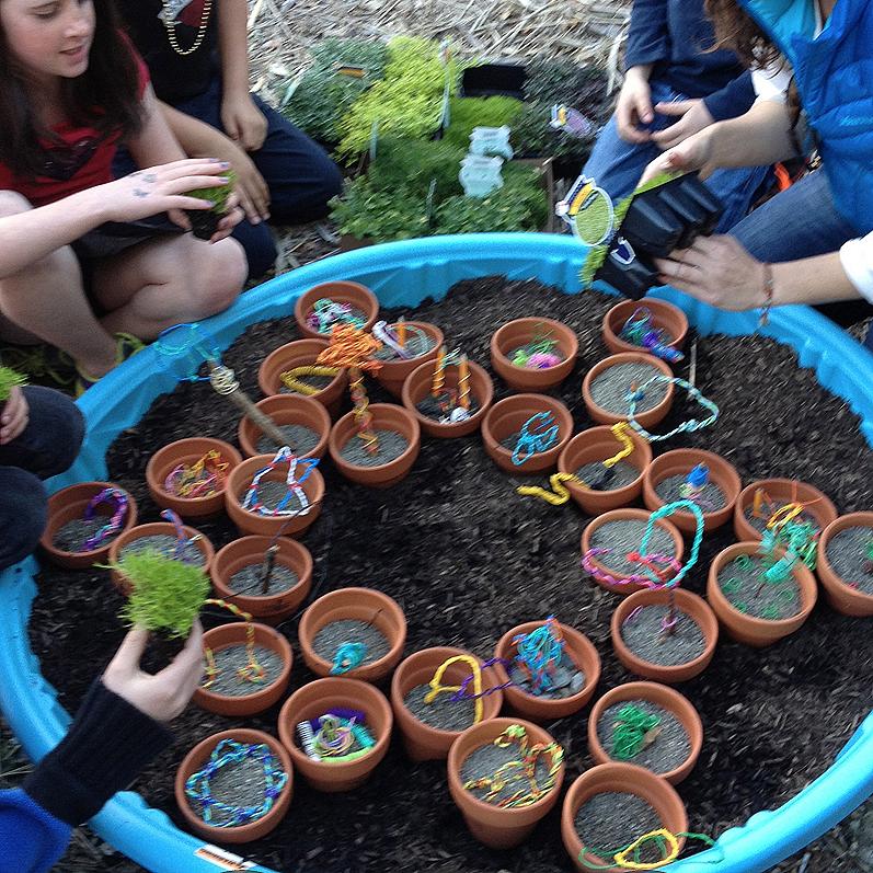 twisteezwire garden mandala