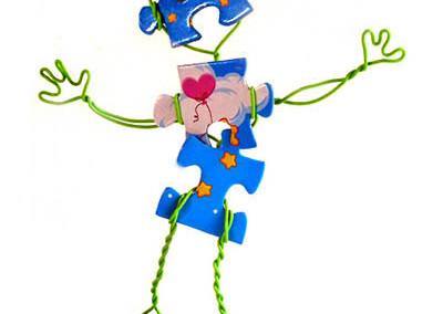 Puzzle wire boy