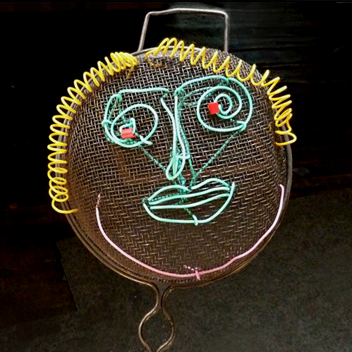 small strainer face
