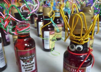 bottle party crowd